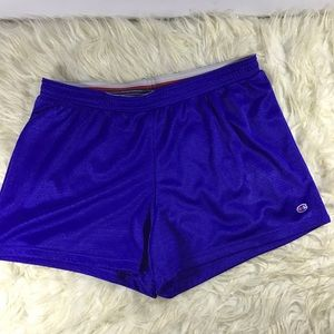 Champion Royal blue gym shorts mesh elastic waist